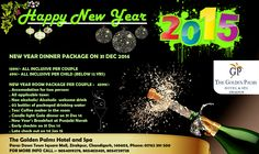 Unleash the party animal within you this new Year with Golden Palms Hotel & Spa, Zirakpur.