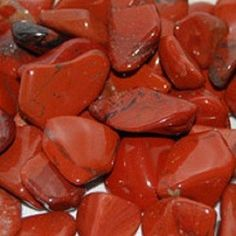 Red jasper is an excellent grounding stone. Aligned with the root chakra, this stone brings security and energy to those who use or wear it. A great crystal for releasing fear and drawing strength. Th