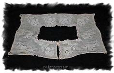 Childs Collar Filet Crochet Heirloom Vintage by bctreasuretrove, $7.00