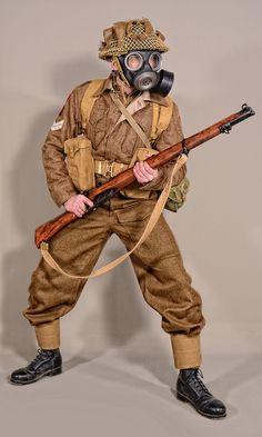 Military - uniform British soldier - 01 by MazUsKarL on DeviantArt British Army Uniform, British Uniforms, Ww2 Uniforms, British Soldier, Military Gear, Military Weapons, Military History, Soldier Costume, Commonwealth