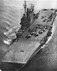 Bikini Atoll - The USS Saratoga. One of the few diveable aircraft carriers in the world.