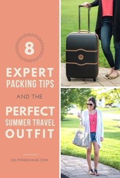 Summer survival: 8 expert packing tips & the perfect summer travel outfit Travel Outfit Summer, Summer Travel, Travel With Kids, Family Travel, Summer Vacations, Travel Outfits, Summer Outfits, Packing Hacks, Packing Tips For Travel