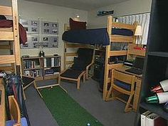 Check out this HGTV site for dorm room design ideas.