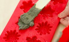 What She Makes By Putting Cement Into Silicone Molds Is BRILLIANT! - http://www.wisediy.com/what-she-makes-by-putting-cement-into-silicone-molds-is-brilliant/
