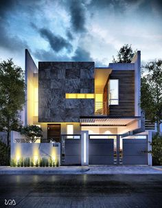 Modern Residence at F-10 Islamabad by Ahmad Riaz & Associates ...