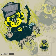 he long lost and fourth monkey who broke away from its three other former buddies who chose to always see nothing, hear nothing and tell nothing. Th Failchimp is the chimp with an attitude who'r rather call a spade a . Fails, Shirt, Character, Dress Shirt, Make Mistakes, Shirts, Lettering