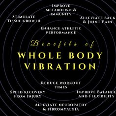 Benefits of Whole Body Vibration – Instagram Post by Jackie Freeman Whole Body Vibration, Improve Metabolism, Body Is A Temple, Fibromyalgia, Flexibility, Benefit, Healing, Workout, Instagram Posts