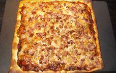 Pizza Med Bacon Og Løk