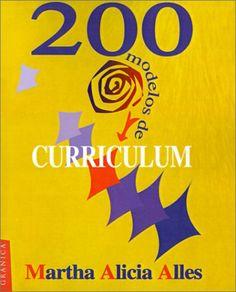 200 Modelos de Curriculum:  Martha Alicia Alles {Portada de Amazon.es}