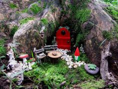 Fairy Garden inspiration from This, that and everything inbetween