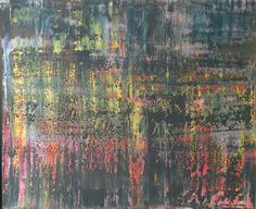 Abstract art by Canadian artist Robert Martin Abstracts. Astray 39x47x1.5in. Bali collection #4 Acrylic on canvas