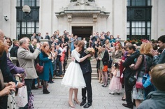 Quirky London Pub Wedding: Ian & Chrissie · British Brides · Wedding · Rock n Roll Bride There will be a photo like this oh yes - anaconda squeeze!