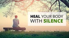 Silence Therapy: Remarkable Approach Effective in Helping Handle Stress