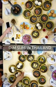Chinese immigrants brought dim sum to Southern Thailand and combined it with local flavors-- the result is an incredible mix of both cuisines at this spot popular with locals.