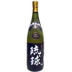 新里酒造 三ツ星泡盛 琉球43度1升瓶