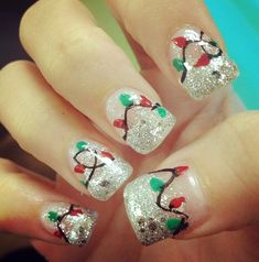 Christmas nails - doing these this year ❤️