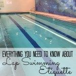 What everyone should know about lap swimming etiquette