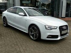 Audi a5 sportback white