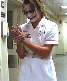 Heath Ledger as The Joker Der Joker, Joker Und Harley Quinn, Heath Ledger Joker, Joker Art, Joker Dark Knight, The Dark Knight Trilogy, The Matrix, Christopher Nolan, Joaquin Phoenix