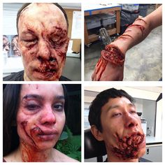 "The Horror Gallery on Instagram: ""Special effects makeup by the team @prorenfx"""