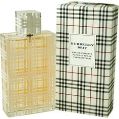 Turn heads with this stylish, Burberry Brit fragrance for women. This eau de toilette offers a feminine scent ideal for daytime wear. It is made from notes of almonds, limes, and pears with soft floral tones and a sweet note of vanilla for extra class.