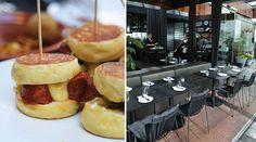 MoVida Pops up at City Terrace Pop Up, Terrace, City, Places, Ethnic Recipes, Food, Balcony, Patio, Popup