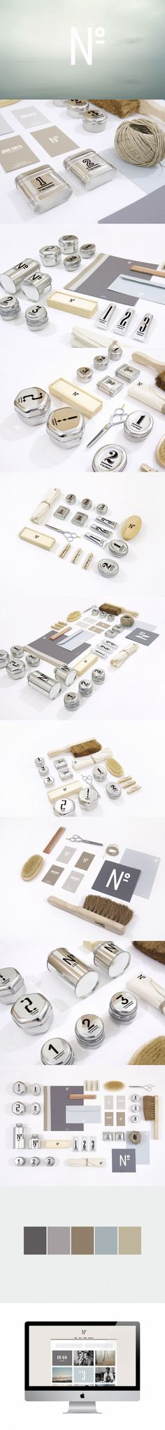 Here's an extended pin for NO mens skin care branding by Shou Wei Tsai 09 NO. identity packaging PD