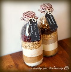 Originální dárek: Cookies v láhvi - Cookies in a jar