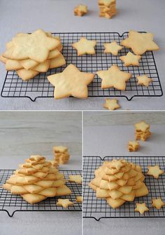 Mon beau sapin........ Christmas And New Year, Christmas Time, Xmas, Cookies Et Biscuits, Sugar Cookies, Christmas Baking, Christmas Cookies, Cooking Humor, Kitchen Recipes