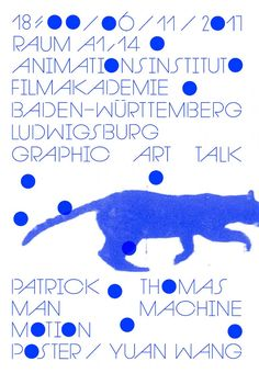 Poster design for Prof. A poster designed for AGI member Professor Patrick Thomas' speech at the Ludwigsburg Film Graphic Design Posters, Graphic Design Illustration, Layout Design, Print Design, Motion Poster, Buch Design, Collage Design, Geometric Logo, Cool Posters