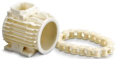 3D Printer Model of a Chain and Engine Block #3dPrinteresting #3dPrinting