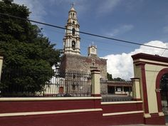Church in Ajijic, Jalisco, Mexico.