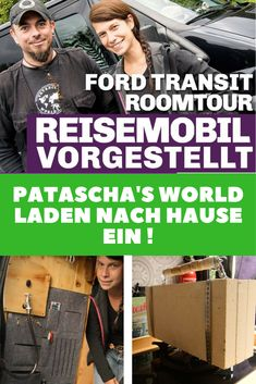 Camper Ausbau Video Roomtour! Wohnmobil selbst gebaut im Ford Transit. Vanlife / DIY / Camping / selber machen / Wohnmobil / Reisen