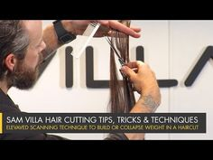 Elevated Scanning Technique to Build or Collapse Weight in a Haircut   Sam Villa Blog