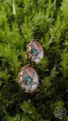 Earrings-Spring Seeds Handmade Item by Mariyas Garden
