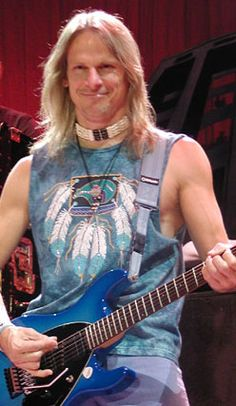 "Eye Candy: Steve Morse, guitar player for Deep Purple, Kansas and Dixie Dregs. Best Overall Guitarist by Guitar Player magazine for five years in a row which qualified him for their ""Guitar Player Hall of Fame"","