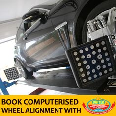Improper alignment is a major cause of premature tyre wear. Over the years, a properly aligned car can add thousands of kilometers to tyre life. #WheelAlignment #Ahmedabad #AlloyWheels