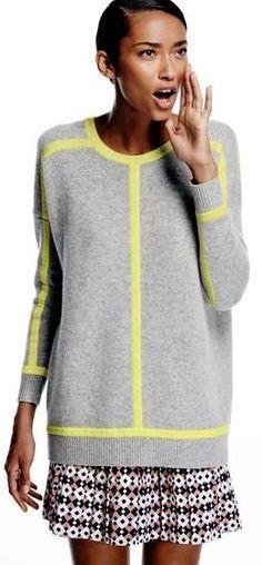 Strik en smuk jakke med blide farveskift | Strikket jakket i uld og silke
