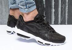 promo code fecde 552c7 Nike Air Max 96 II XX Black White 870166-001   SneakerNews.com Kicks