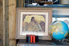 Diego Rivera Lily Vendor Litho : 20th Century Vintage Furnishings & Design