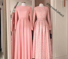 New Dress Hijab Party Haute Couture Ideas Eid Dresses, Modest Dresses, Trendy Dresses, Simple Dresses, Beautiful Dresses, Casual Dresses, Abaya Fashion, Muslim Fashion, Fashion Dresses