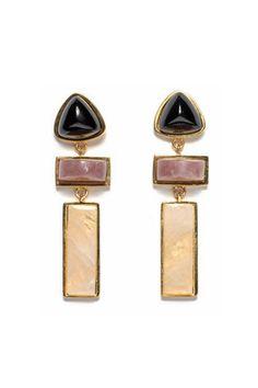 Villa Earrings In Gold