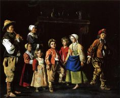 Dance of the children - Le Nain brothers - WikiPaintings.org