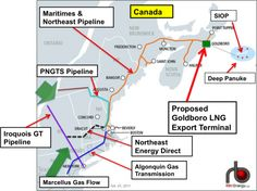 Break On Through To the Canadian Side—Moving Marcellus Gas to the Maritimes | RBN Energy