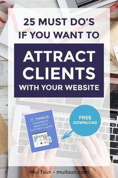 Did you know... that your visitors will decide whether to stay or leave within 8 seconds of landing on your website? So how do you make a connection with your ideal clients in those precious 8… More