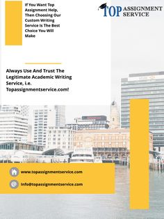 If you are worried about assignment writing service you can make and efford to visit USA top assignment service  #TopAssignmentService #TopAssignment #AssignmentService #Assignmentwriting #Assignment  Visit : https://www.topassignmentservice.com