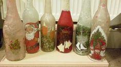 Flaschen in Arbeit