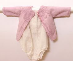 Ravelry: Pink Jacket pattern by Florence Merlin