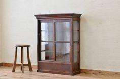 Glass Case A15106古いタバコ屋のアンティークガラスケース2 インテリア 雑貨 家具 Antique ¥67000yen 〆06月14日
