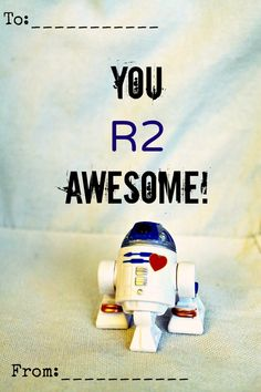 Freshly Completed: Printable Star Wars Valentines...